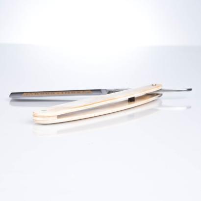 Dovo Rasiermesser Horn Inox 5/8 stainless