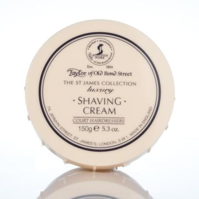Taylor of Old Bond Street St. James Collection luxury Shaving Cream