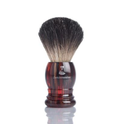 Zwickmeister Shaving Havana Gray Badger
