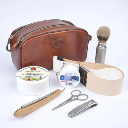 Gentleman Rasiermesser Set für die Reise Dovo Solingen