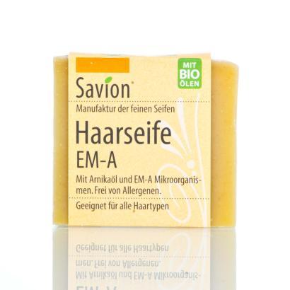 Savion EM-A Haarwaschseife 85 g, handgemacht