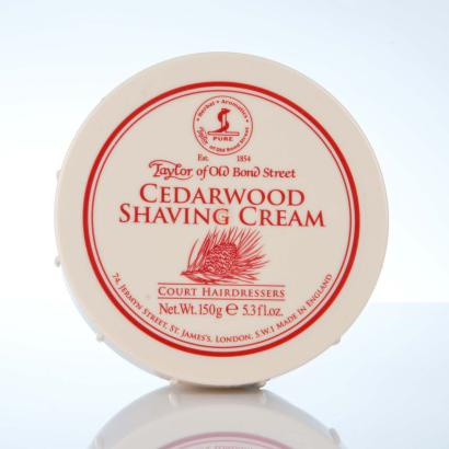 Taylor of Old Bond Street Cedarwood Shaving Cream - Zedernholz Rasiercreme