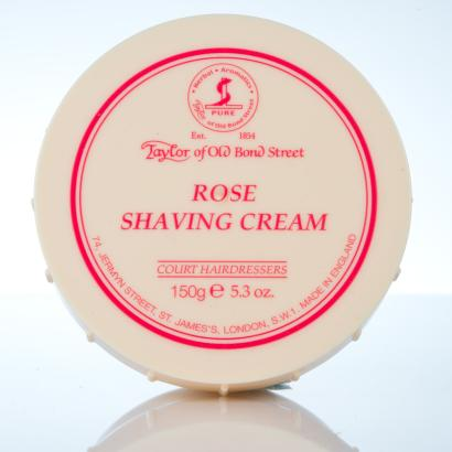 Taylor of Old Bond Street Rose Shaving Cream - Rasiercreme Rose