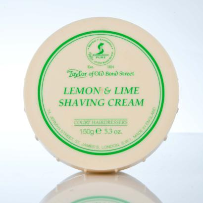 Taylor of Old Bond Street Lemon & Lime Shaving Cream - Rasiercreme Limone