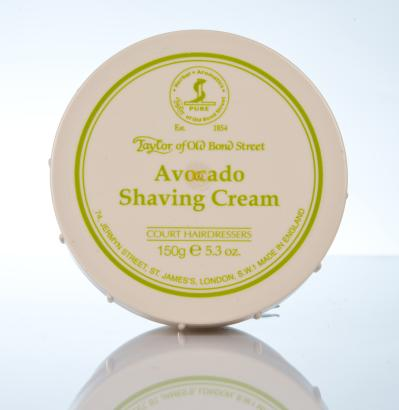 Taylor of Old Bond Street Avocado Shaving Cream - Avocado Rasiercreme