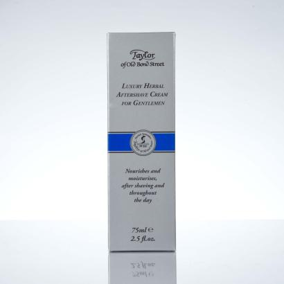 Taylor Of Old Bond Street Luxury Herbal Aftershave Creme 75ml
