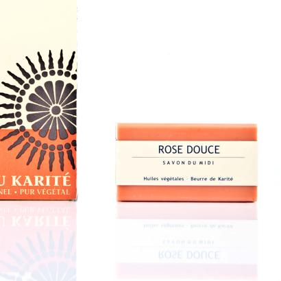Savon Du Midi Rose Douce Seife