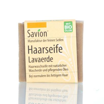 Savion Lavaerde Haarwaschseife,  85-Gramm-Block, handgemacht