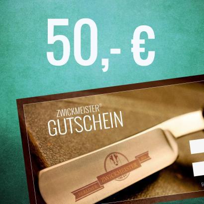 Zwickmeister Geschenkgutschein 50 Euro