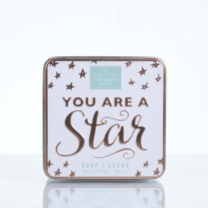 Scottish Fine Soaps Soap in a tin You Are A Star
