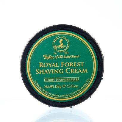 Taylor of Old Bond Street Royal Forest Shaving Cream