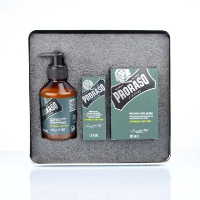 Proraso Bartpflegeset Cypress & Vetyver Geschenkset