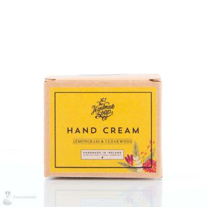 The Handmade Soap Co. Hand Cream Lemongrass & Cedarwood 50g
