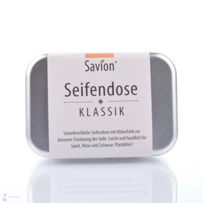 Savion Seifendose mit Ablaufsieb - dreiteilig