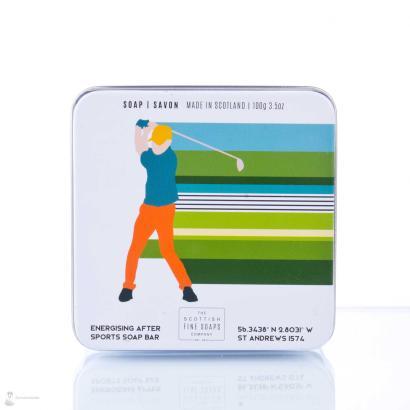Scottish Fine Soaps Soap in a tin Golf