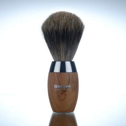 Boker Shaving Brush Olive Wood