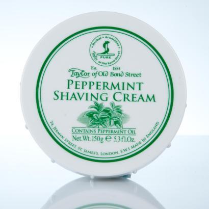 Taylor of Old Bond Street Peppermint Shaving Cream - Pfefferminz Rasiercreme