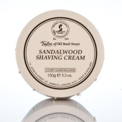 Taylor of Old Bond Street Sandalwood Shaving Cream - Rasiercreme Sandelholz