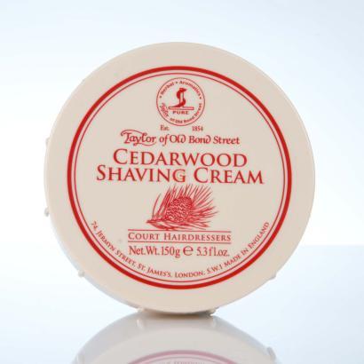 Taylor of Old Bond Street Cedarwood Shaving Cream - Zedernholz Rasiercreme