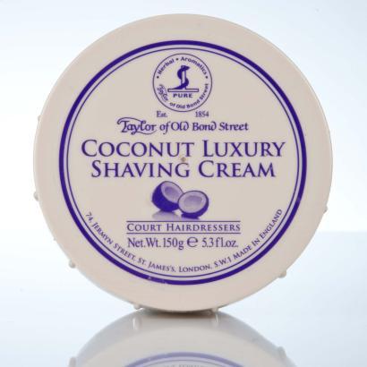 Taylor of Old Bond Street Coconut Luxury Shaving Cream - Kokossnuss Rasiercreme