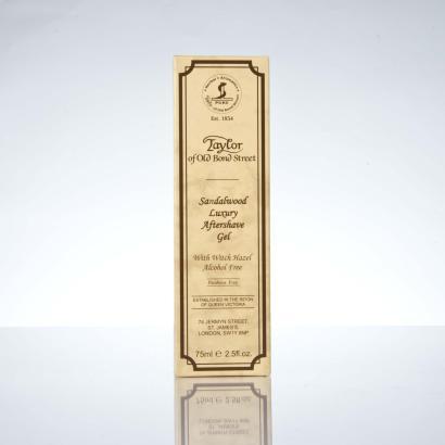 Taylor Of Old Bond Street Luxury Sandalwood Aftershave Gel 75 ml