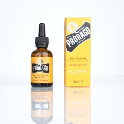 Proraso Bart-Öl Wood and Spice 30 ml